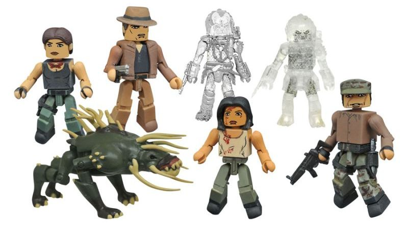 Diamond Select Toys Minimates Predator