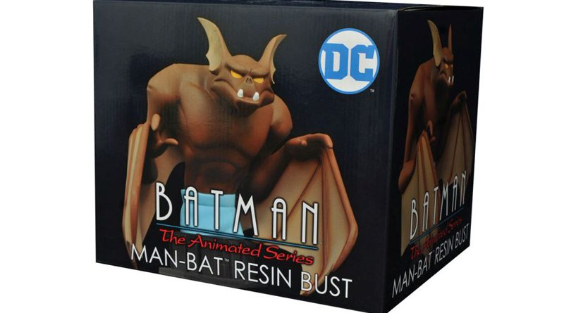 Diamond Select Toys Man-Bat Bust Banner
