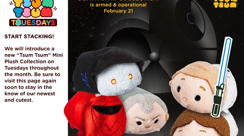 Disney Tsum Tsum Death Star Collection