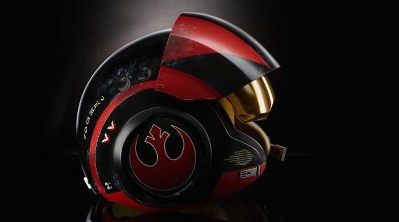 Hasbro Black Series Poe Dameron Helmet Banner
