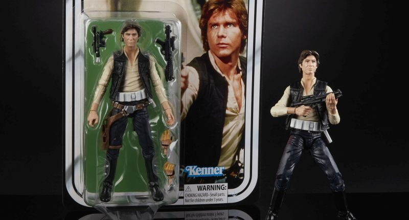 Hasbro BS6 40th Han Solo Banner