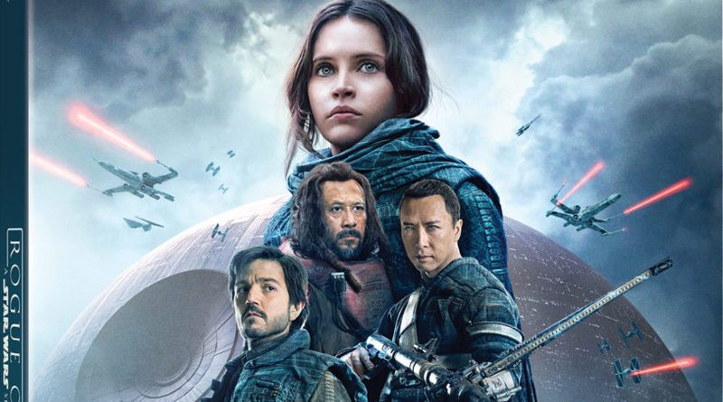 Rogue One Blu-Ray Packaging Banner