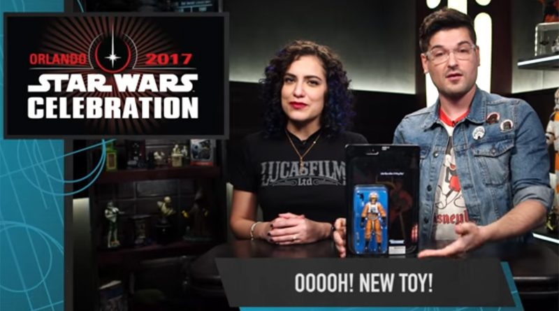 Star Wars Show Black Series Luke Skywalker X-Wing