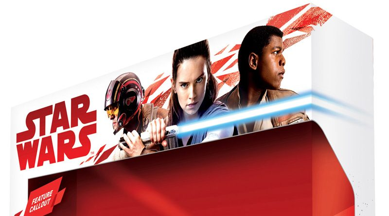 Star Wars The Last Jedi Packaging banner