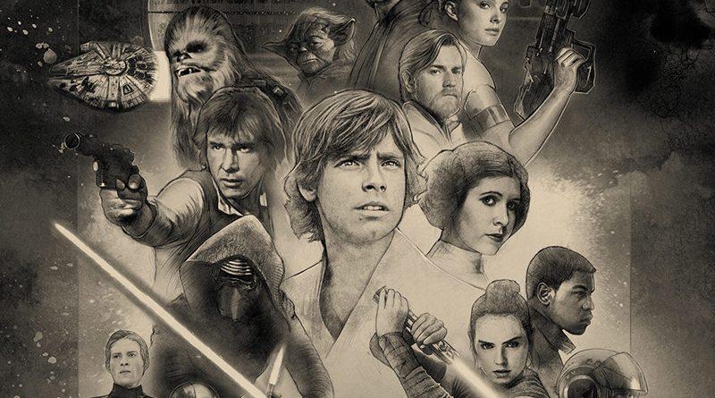Star Wars Celebration Orlando 2017 Paul Shipper Key Art Poster Banner