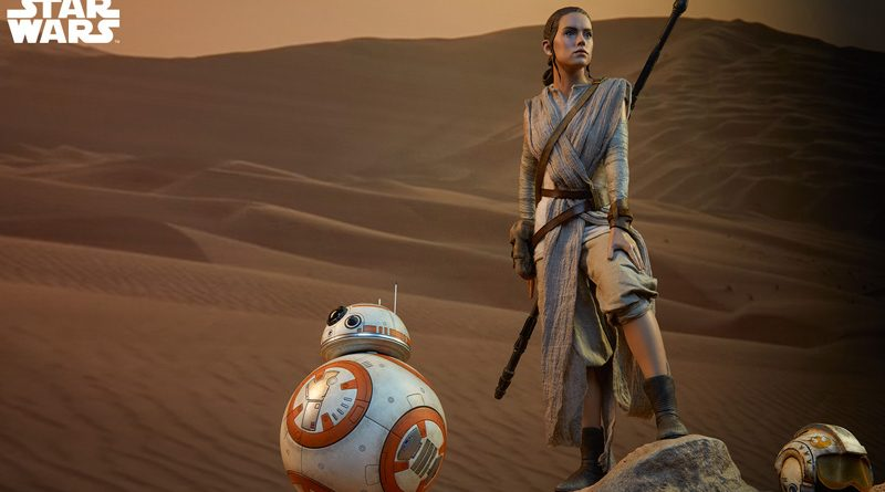 Sideshow Premium Format Rey BB-8 Banner