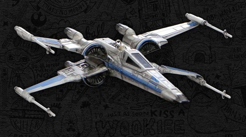 Hallmark T-70 X-Wing Banner