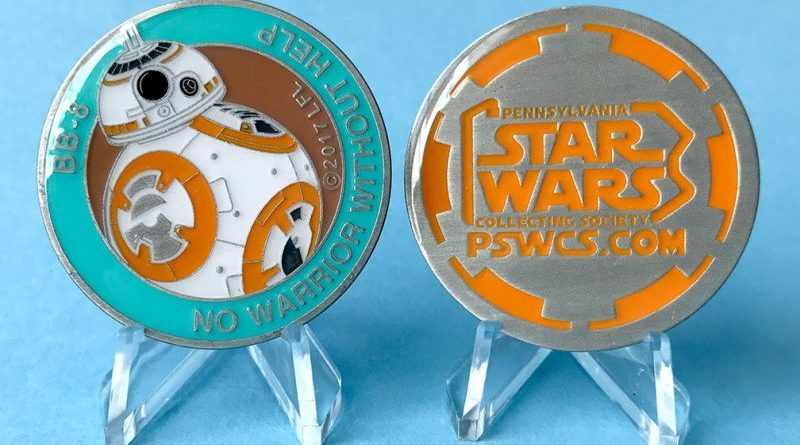 Star Wars Celebration Orlando 2017 PSWCS BB-8 Medallion Banner