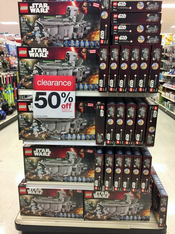 Big Markdowns On Lego At Select Target Stores – Imperial Holocron