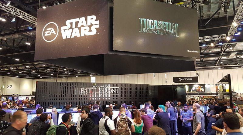 Star Wars Celebration Orlando 2017 EA Games