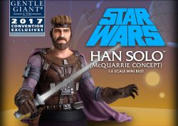 Gentle Giant Convention Ralph McQuarrie Han Solo
