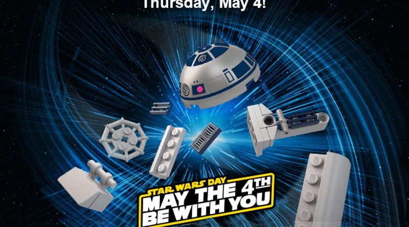 Lego May 4th 2017 R2-D2 Banner
