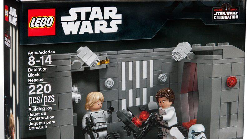 Lego Star Wars Celebration Orlando 2017 Detention Block Rescue Banner