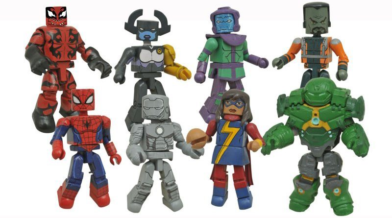 Diamond Select Toys Minimates Walgreens Series 5 Banner