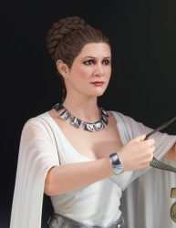 Gentle Giant Bust Yavin Ceremony Leia 03