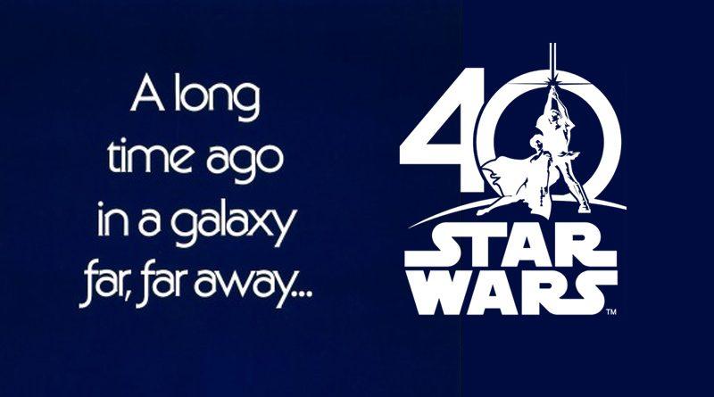Star Wars 40th Anniversary Banner