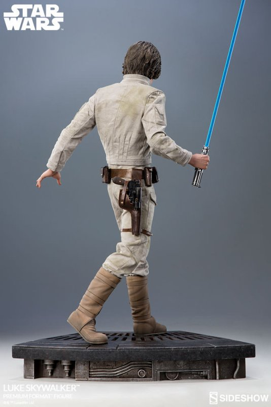 Pre Order Sideshow S Luke Skywalker Premium Format Statue