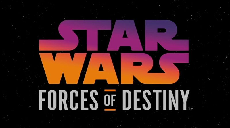 Star Wars Forces of Destiny Banner
