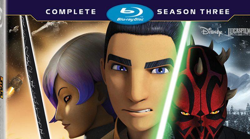 Star Wars Rebels Season 3 Blu-ray Banner