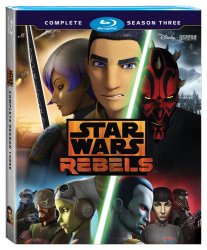 Star Wars Rebels S3 Blu-ray