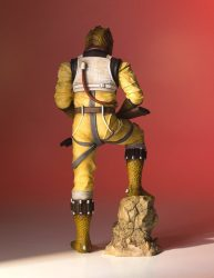 Bossk Statue Back