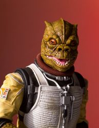Bossk Head Sculpt Closeup