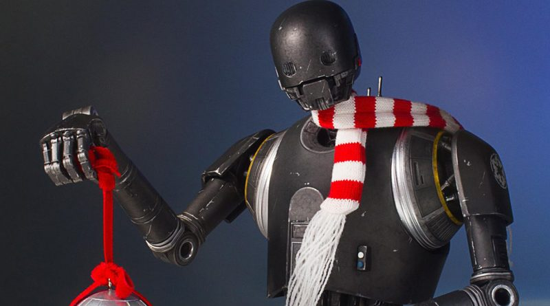 K-2SO Holiday Mini Bust
