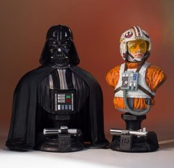 Classic Busts Luke Skywalker Darth Vader