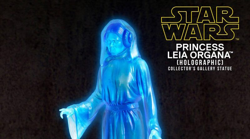 Holographic Princess Leia
