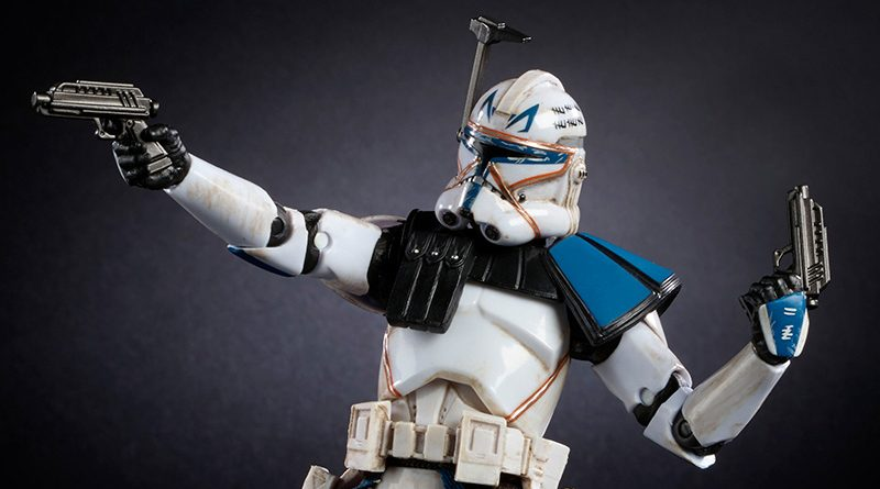 Black Series Captain Rex Banner