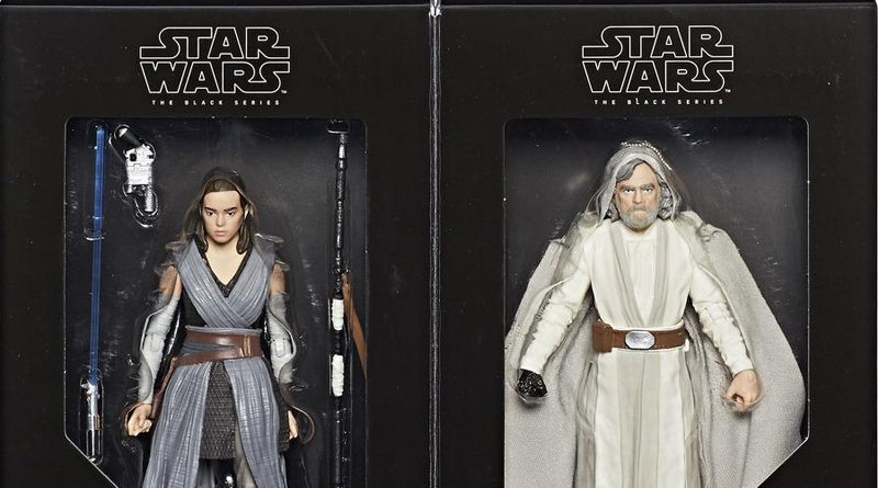Luke Skywalker and Rey Banner