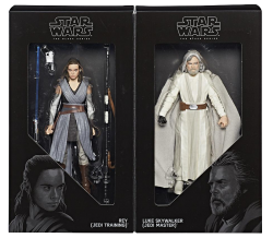 Luke Skywalker and Rey Boxed
