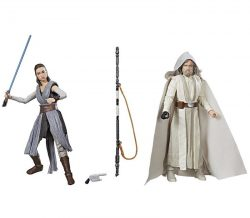 Luke Skywalker and Rey Loose