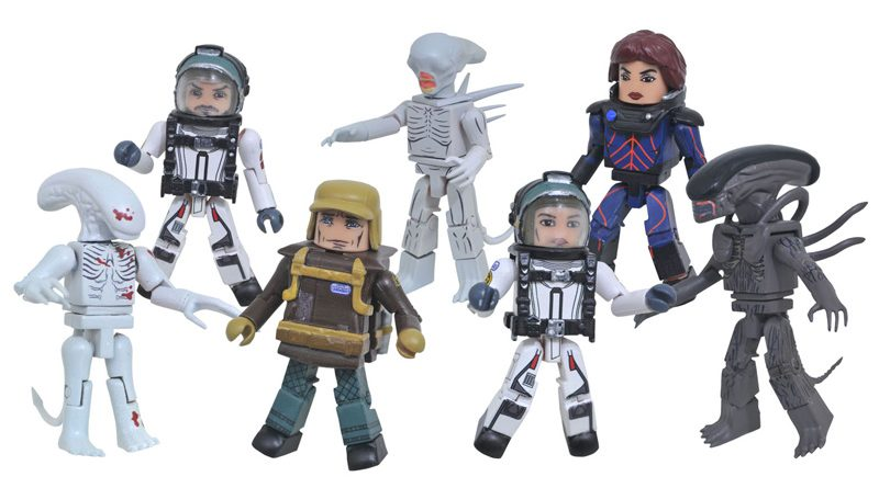 Alien Covenant Minimates