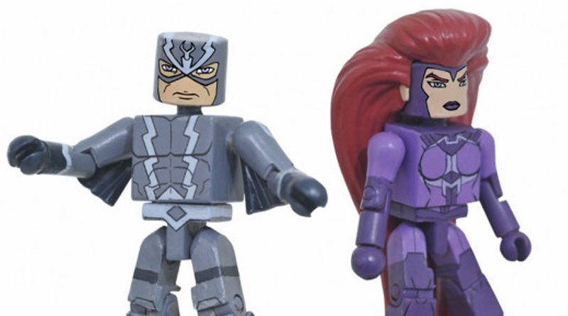 Black Bolt and Medusa Minimates