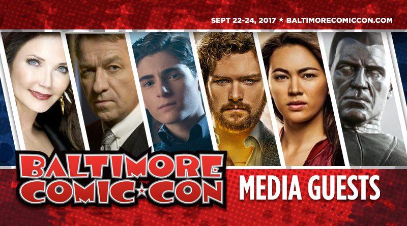 Baltimore Comic Con Media Guests
