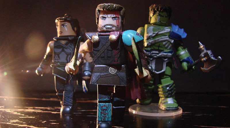 Thor Ragnarok Minimates Banner