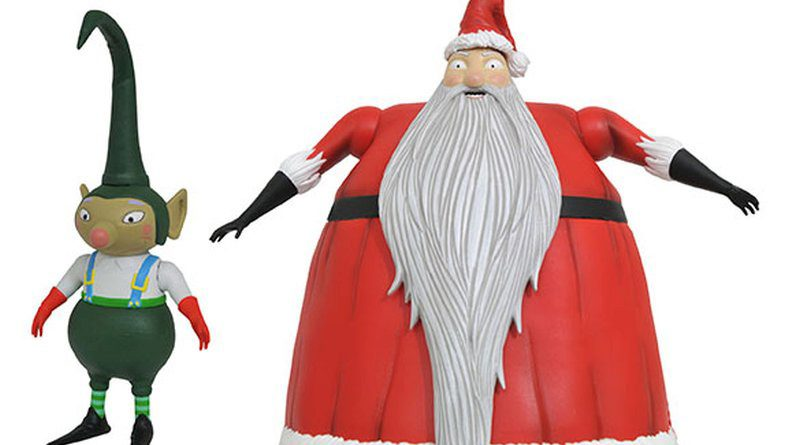 Nightmare Before Christmas Santa Banner