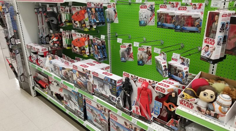 Force Friday Toys-R-Us Shelf