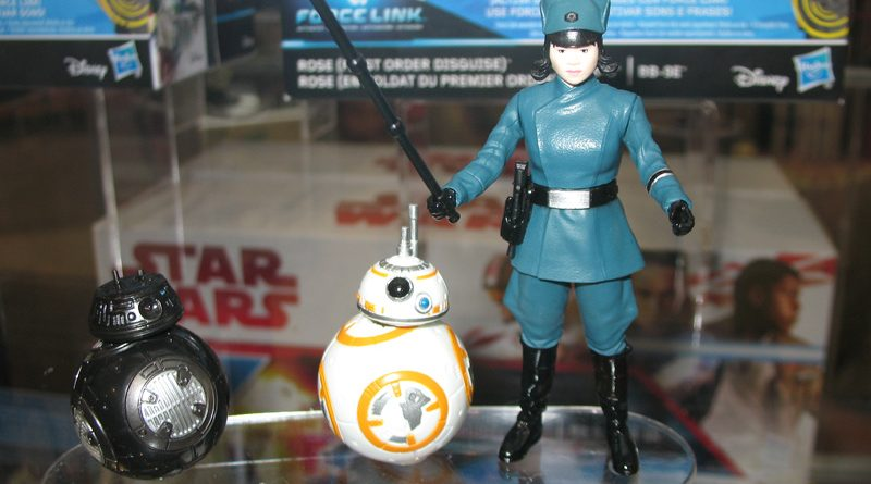 Rose BB-8 and BB-9E Banner