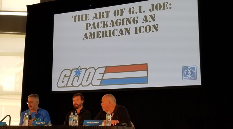 Art of G.I. Joe Packaging Banner