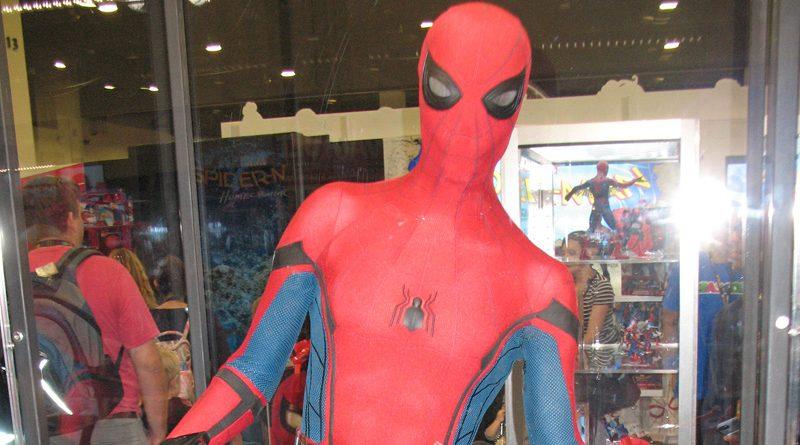 Spider-Man Costume Banner