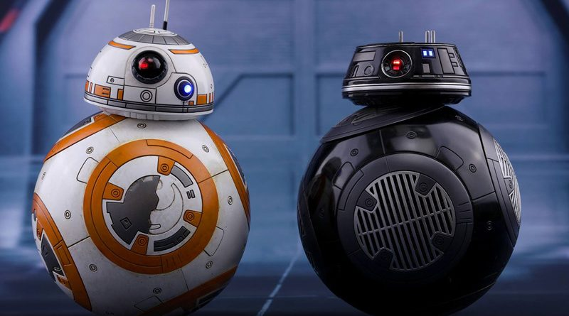 Hot Toys BB-8 and BB-9E Banner