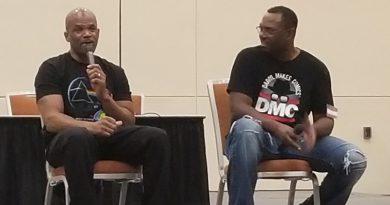 Darryl D.M.C. McDaniels Raps With Fans At Baltimore Comic Con