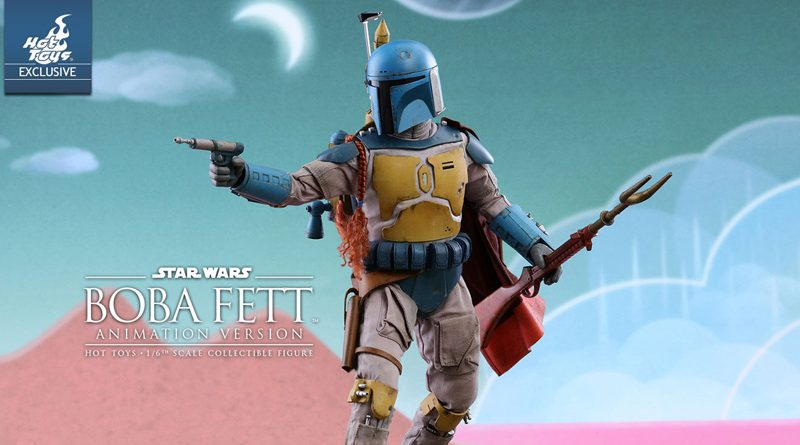 Hot Toys Animated Boba Fett Banner