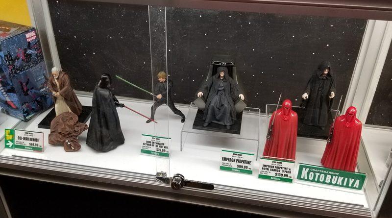 Kotobukiya Shows New Star Wars, Marvel, And DC Items At NYCC