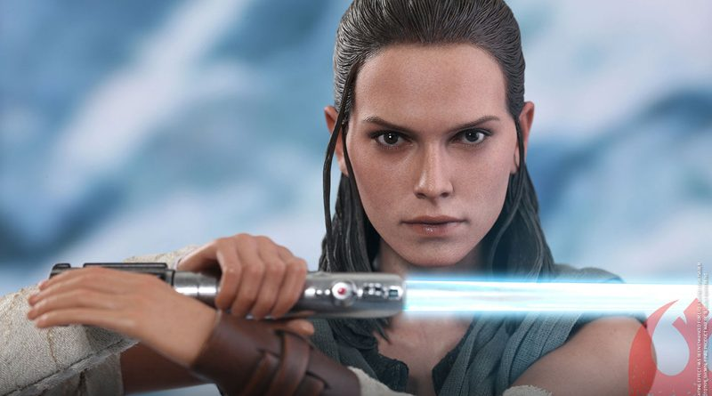 Hot Toys Jedi Training Rey Banner