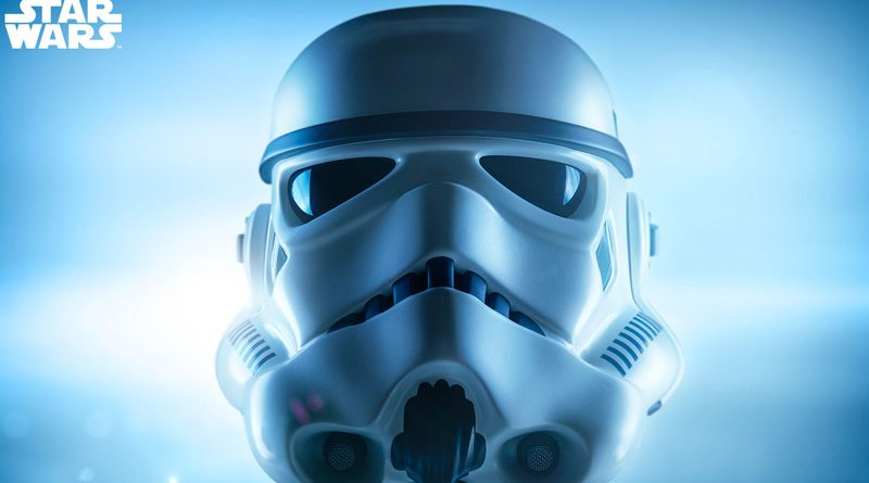 Life-size Stormtrooper Bust Banner