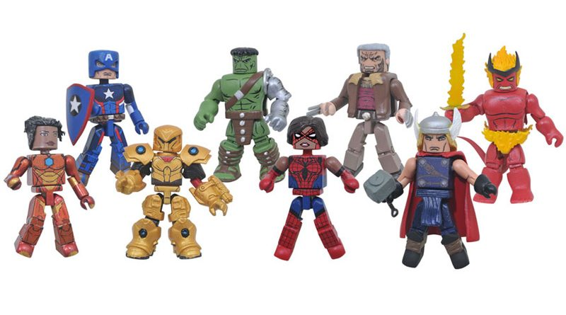 Marvel Minimates Series 74