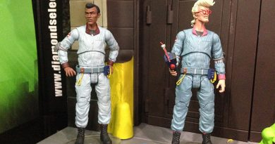 Diamond Select's Ghostbusters Series 6 kicks off the Firehouse Diorama Build-A-Playset!